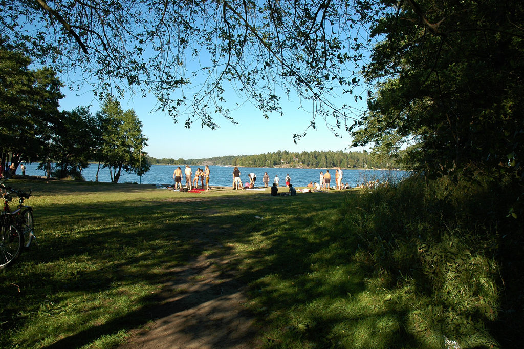 swimming in stockholm