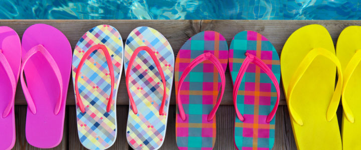 The importance of pool sandals