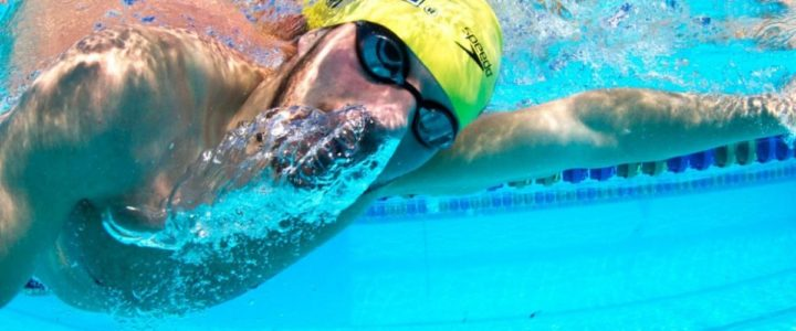 Breathing while swimming for beginners